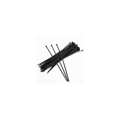 Aquagart 2000 Kabelbinder 300mm x 4,8mm für Schattiernetz Zaunblende Tennisblende Bauzaun