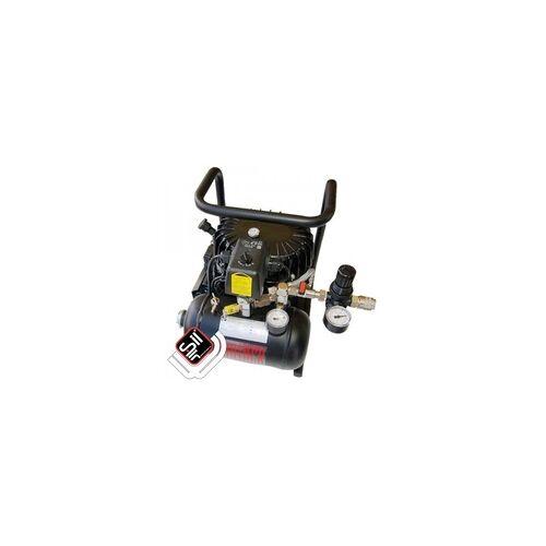 Silentkompressoren Black Panther P15-TC Kompressor Flüster-Leise mit nur 30 dB(A)/lm, Silair, Leise Kompressor