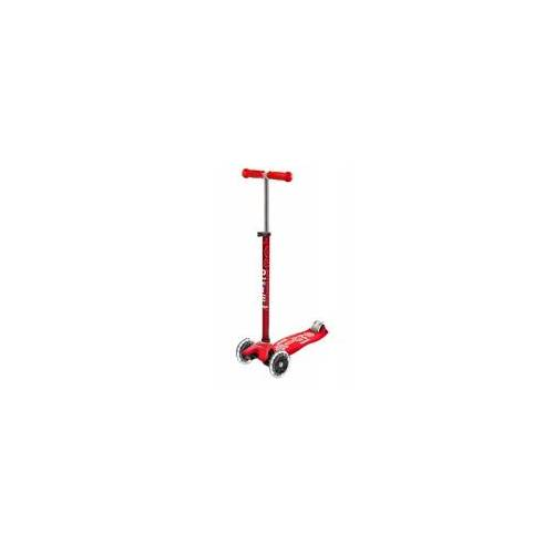 Micro Scooter Scooter Maxi MICRO DELUXE red (LED) - MMD068