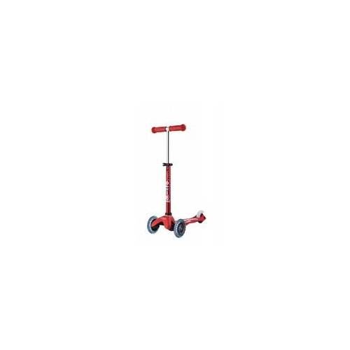 Micro Scooter Scooter Mini Micro DELUXE LED red - MMD052