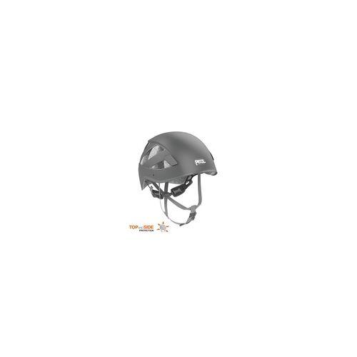 Petzl Kletterhelm Boreo grau Kletterhelmgewicht - 280 - 300g, Kletterhelmfarbe - Grau, Kletterhelmgröße (Kopfumfang) - ~ 50 - 58 cm,