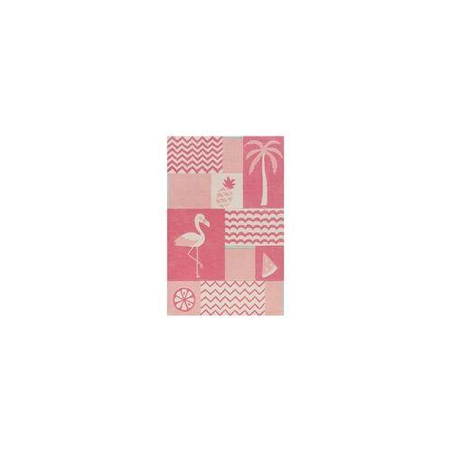 Smart Kids Kinder Teppich Smart Kids Fruity Flamingo SM-4294-02 pink