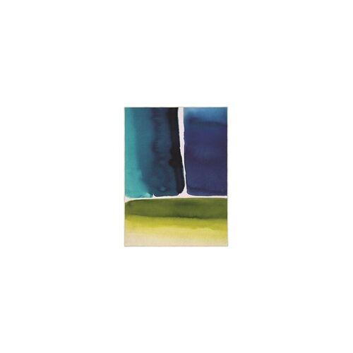 Bluebellgray Kurzflor Designer Teppich Bluebellgray Muralla Azure 15108 blau grün
