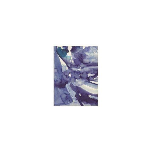 Bluebellgray Kurzflor Designer Teppich Bluebellgray Blue Skies 13708 blau