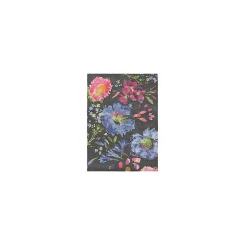 Bluebellgray Kurzflor Designer Teppich Bluebellgray Kippen 18705 lila grau