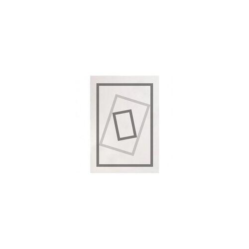 Edito Kurzflor Designer Teppich Edito The Door AR006 creme grau in 160 x 230 cm