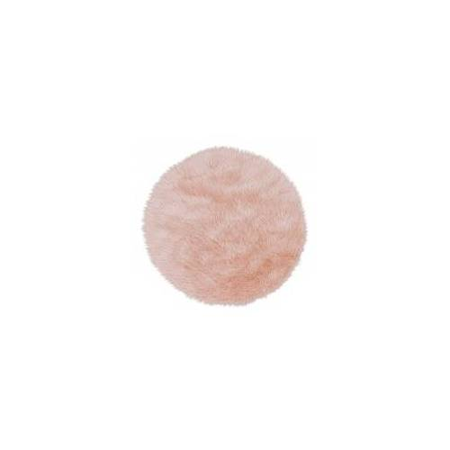 ASTRA Fell Teppich Astra Mia Rund 6276 170 015 pink