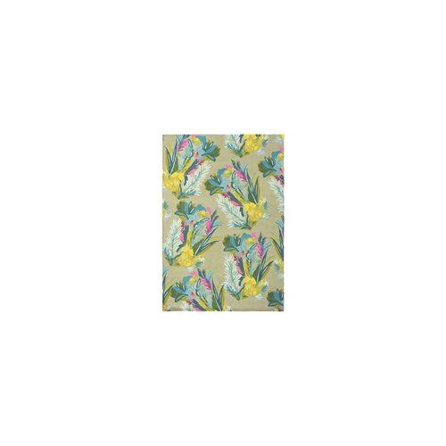 Bluebellgray Kurzflor Designer Teppich Bluebellgray Jungle 18307 multicolor