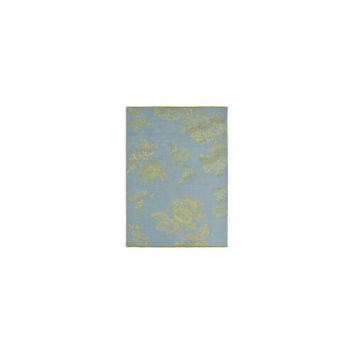 Wedgwood Kurzflor Designer Teppich Wedgwood Tonquin 37008 blau