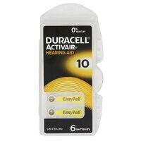 Duracell Activair Hörgerätebatterie Typ 10 (6 Stück)