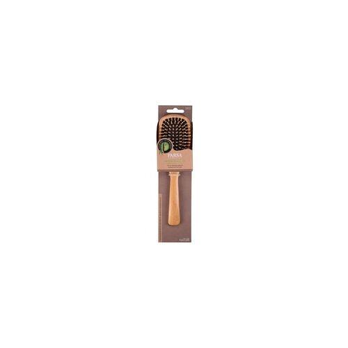 PARSA Profi FSC Holz Haarbürste Groß Oval mit Holzstiften