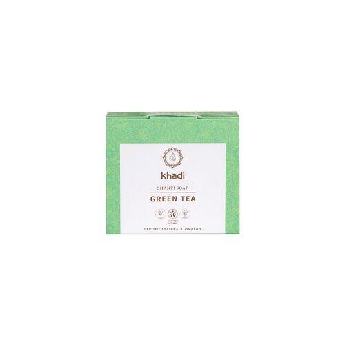 Khadi Shanti Soap Green Tea 100 g