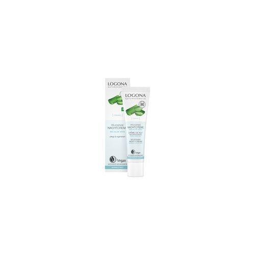 Logocos LOGONA Pflegende Nachtcreme Bio-Aloe Vera 30 ml