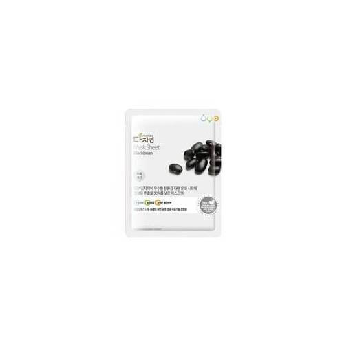 allNATURAL Mask Sheet Blackbeans 25 ml