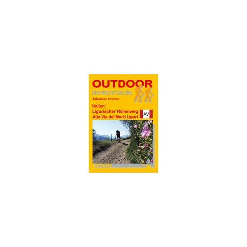 Conrad Stein Verlag Ligurischer Höhenweg Outdoorhandbuch 161
