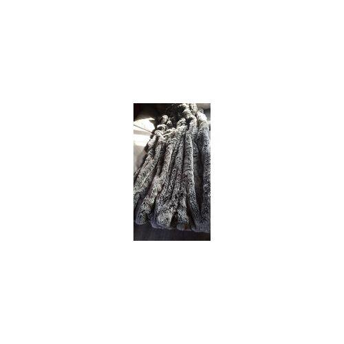 Deckenkunst Wolf Decke grau 140x200