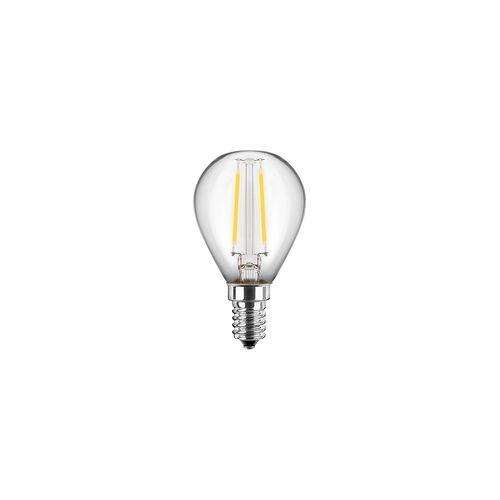 Blulaxa LED Tropfenform G45 1W (15W) E14 80lm WW, Glas (klar)