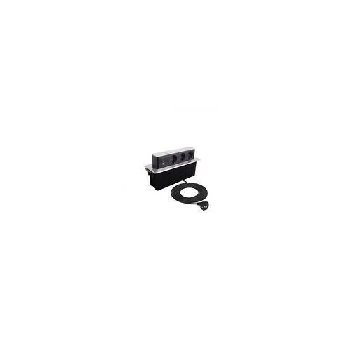 Design Light Einbausteckdose HOP BOX Möbeleinbausteckdose mit USB