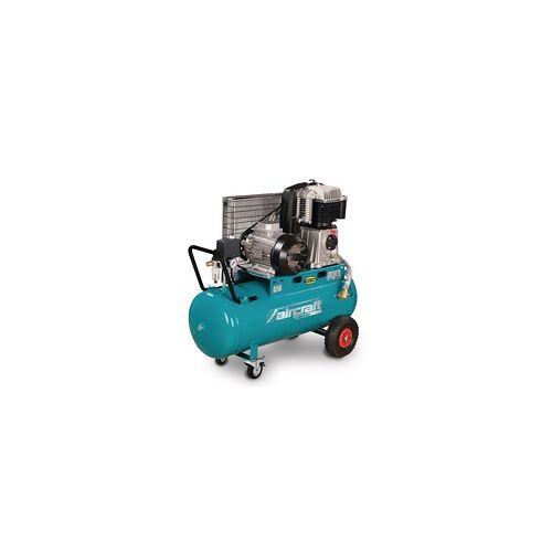 Aircraft Mobiler Kolbenkompressor für Handwerker mit Riemenantrieb AIRSTAR 853/100