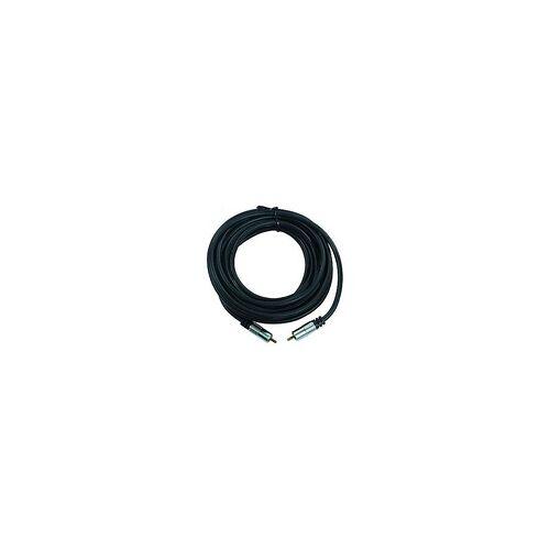 Ett Koaxialleiter 5m 2x Cinch-Stecker DVD-XQ 500