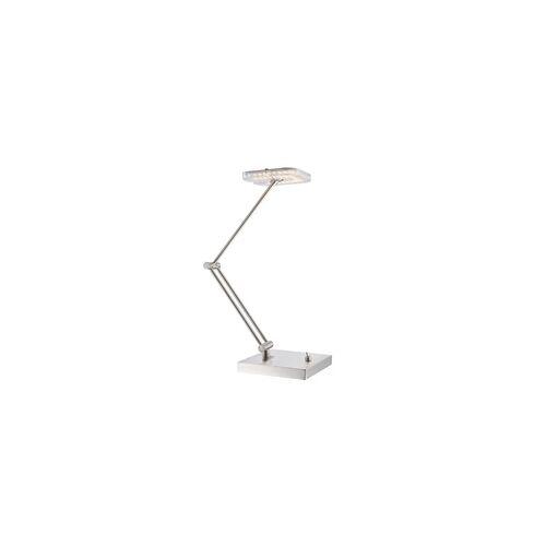 Globo LED 4 Watt Tischleuchte Tischlampe Bürolampe Nickel Leselampe Lampe Globo 59039T
