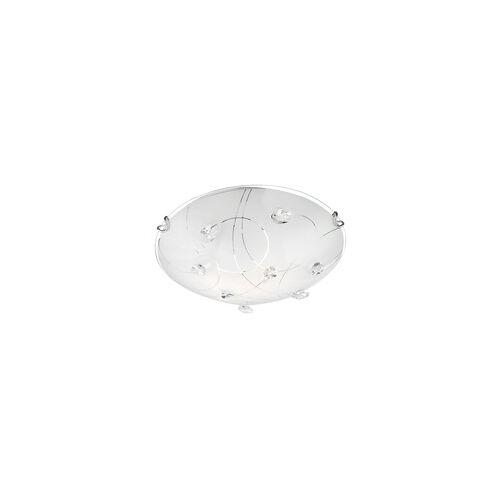 ETC Shop 14 Watt LED Design Decken Leuchte Beleuchtung Glas Kristalle Licht Glas Kristalle