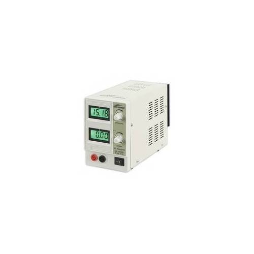 Ett Labor-Netzgerät McPower NG-1620BL regelbar 0-15 V 2 A 2x beleuchtete LCDs 30 W