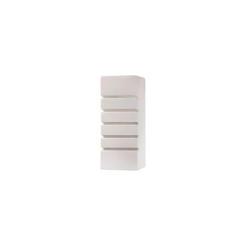 ETC Shop Wandleuchte Wandlampe Weiß Glas Modern Keramik Wohnzimmer Esszimmer Küche