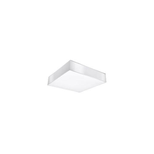 ETC Shop Deckenleuchte Deckenstrahler PVC Weiß Stahl modern Küche Wohnzimmer Esszimmmer