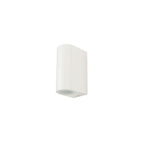 V-TAC Außen Wand Leuchte Fassaden ALU Strahler UP DOWN Beleuchtung Haus Tür Lampe weiß V-TAC 7542