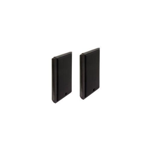 McVoice Flatpanel-Lautsprecher, 2-Wege, 4 Ohm, 40 W, 75-20.000 Hz, schwarz, Paar