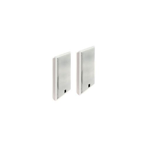 McVoice Flatpanel-Lautsprecher, 2-Wege, 4 Ohm, 40 W, 75-20.000 Hz, weiß, Paar