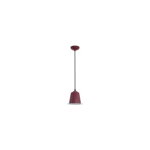 Eglo 5 Watt LED Decken Pendel Hänge Lampe Leuchte Stahl bordaux IP20 Eglo 75106