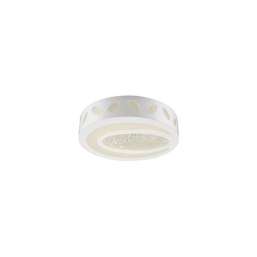 Globo 21 Watt LED Decken Leuchte Acryl-Elemente Leuchte Kristalldekor klar Beleuchtung Globo 49345