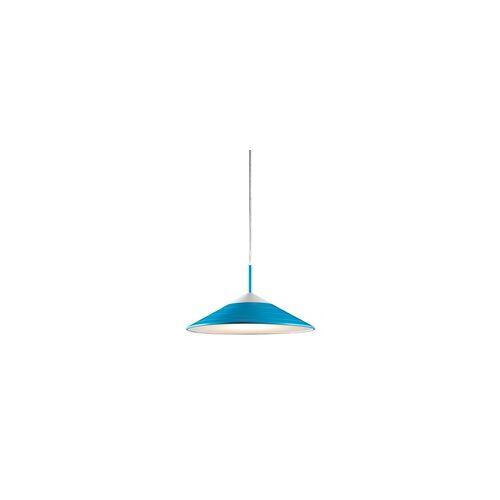 TRIO 12 Watt LED Decken Pendel Leuchte blau Beleuchtung EEK A+ Wohnzimmer Reality TONI