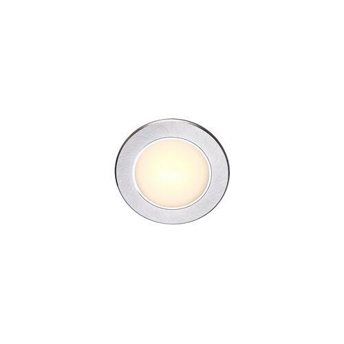 Globo Dekorative LED Einbaustrahler Aluminium Glas opal satiniert 3W  - Globo EINBAUSTRAHLER 12330