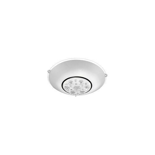 Globo LED 8 Watt Decken Lampe rund Glas Lampenschirm Kristalle klar Leuchte Globo 48175-8