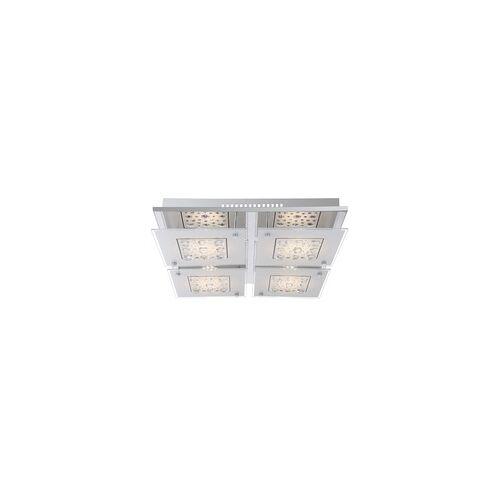 Globo LED Decken Lampe Glas Kristall Wohn Ess Zimmer Leuchte Chrom Strahler Globo 48175-30D