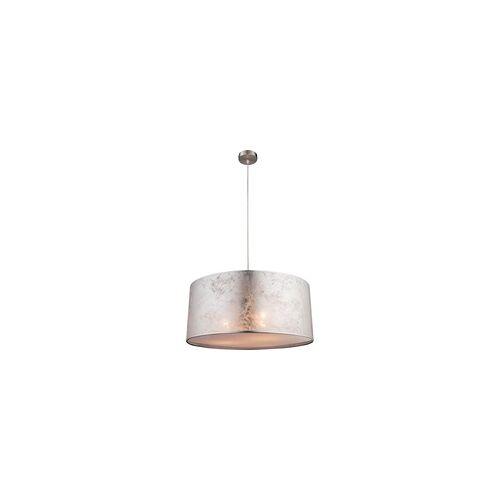 ETC Shop LED Hänge Leuchte 30 Watt Stoff Pendel Decken Lampe glänzende Decken Beleuchtung