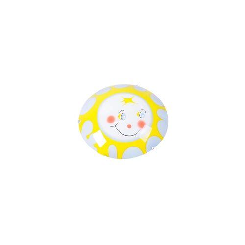Esto Kinderzimmerleuchte weiß/bunt Deckenleuchte Sunny DL Gelb ESTO 48114