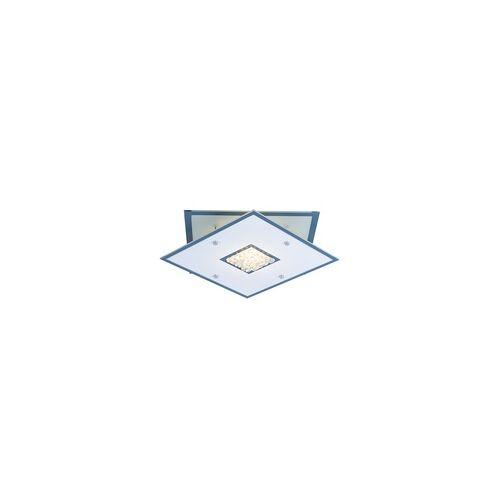 Esto LED Decken Lampe Wohn Ess Zimmer Glas Chrom Kristall Strahler Flur Lampe Esto 748048L