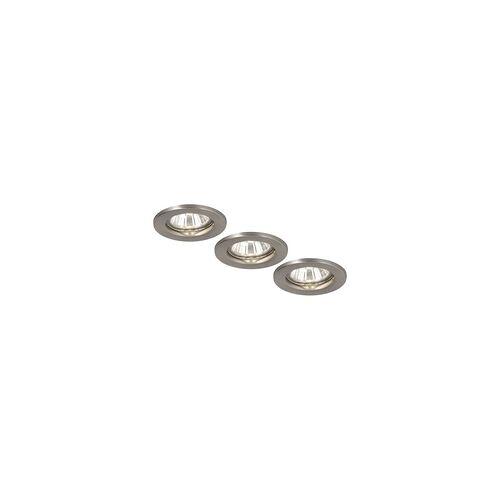 Globo Einbaustrahler Metall Lampe Einbaulicht Deckenstrahler Deckenlicht Globo 12100-3