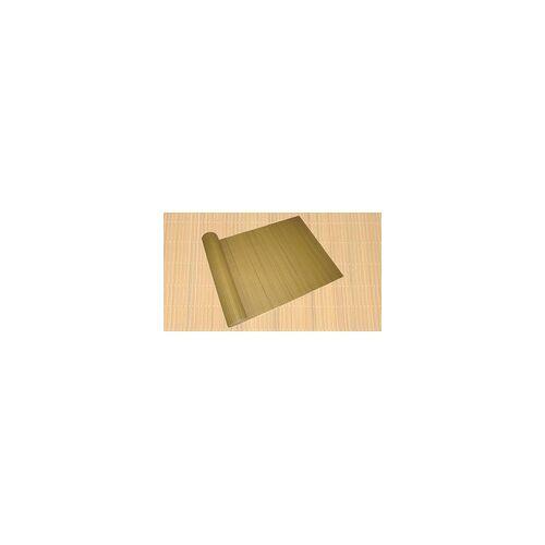 Harms Import Sicht- u. Windschutz PVC 90x500cm bambus Lamellenoptik Rohr 16x3 mm 504566