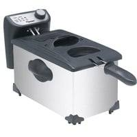 Bestron Fritteuse 2200 Watt 3,5 Liter Behälter Edelstahl Cool Zone Frittieren Filter Bestron AF351