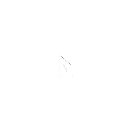 meingartenversand.de Terassenzaun aus Glas - Windschutz aus Klarglas mit den Maßen in 103 x 174 auf 87 cm, in 8 mm Stärke.