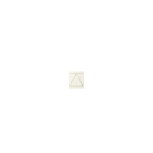 meingartenversand.de Weiße Gartenzaun Zaunpforten Skagen - 100 x 120 cm