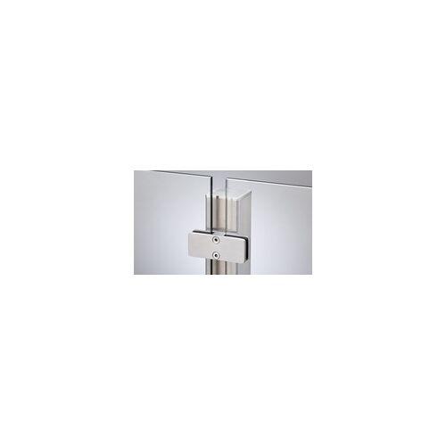 meingartenversand.de Edelstahlpfosten für Glas 127 cm