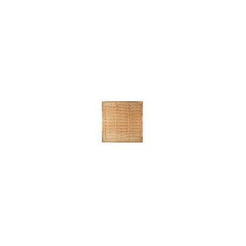 meingartenversand.de Lamellenzaun 180 x 180 cm