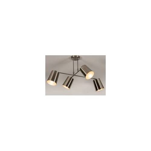 Lumidora Deckenleuchte Modern Metall Nickel 74302