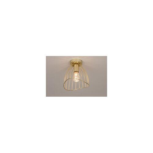 Lumidora Deckenleuchte Modern Retro Metall Gold Rund 74327